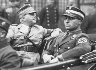 E. Röhm und Karl Ernst, zwei schwule nz. Hochfürer.