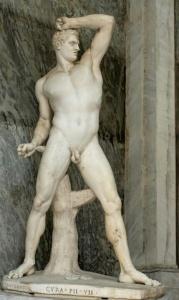 Kreugas; Bildhauer Antonio Canova, Vatikanmuseum, Rom.