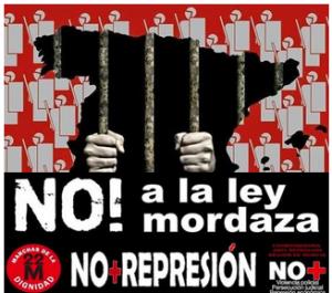 CONTRA LA LEY MORDAZA. CONTRA EL NUEVO CODIGO PENAL Y SU ESPIRITU VERDUGO.