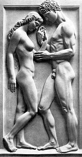 """Arno Breker, """"Amor und Psyche""""."""