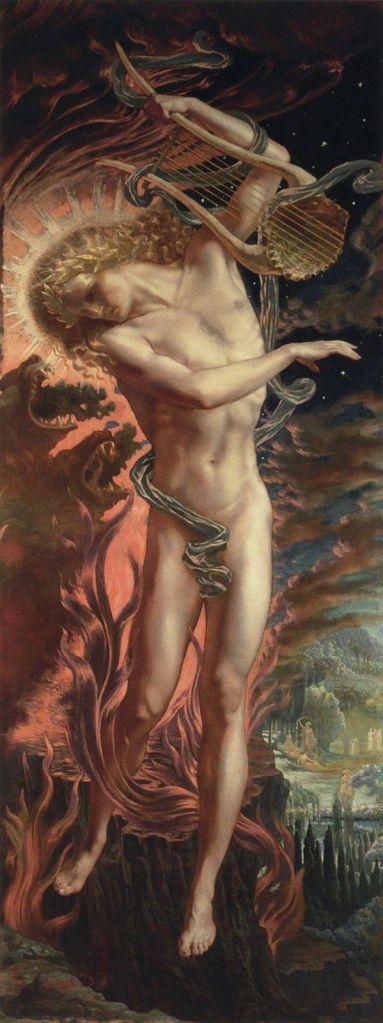Jean Deville, Orpheus in der Hölle.