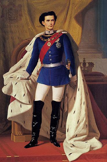 Majestas Sua Ludwig II., König von Beyern, Herr und Unterstützer der übermenschlichen Kunst Richard Wagners, Anstifter wunderschöner Schlösser europeischer Zivilization. Ermordert.