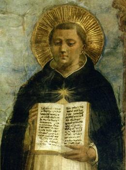 Santo Tomás de Aquino, hijo del germano Gran Canciller del Sacro Imperio Romano Germánico. Heredó las disposiciones intelectuales de su linaje.